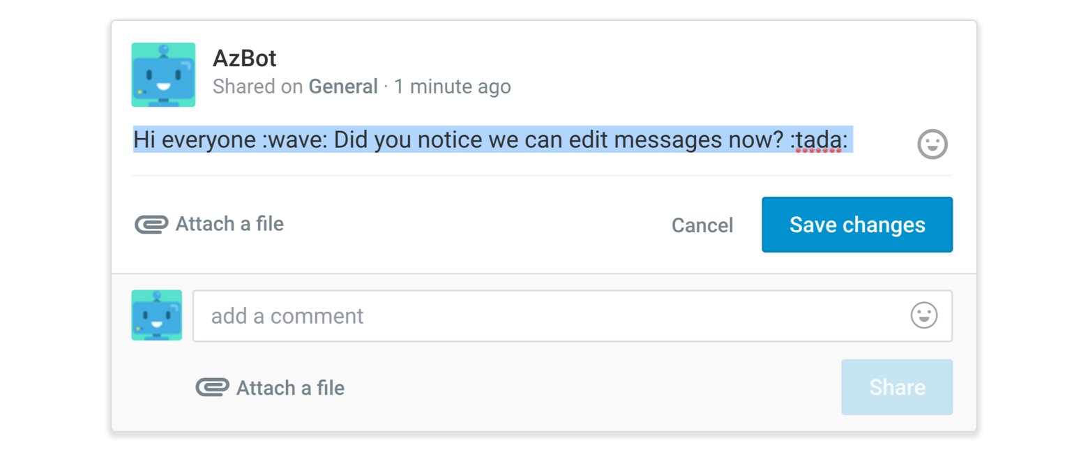 Edit your message away